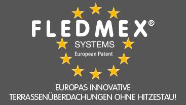 Terrassenüberdachung von FLEDMEX®
